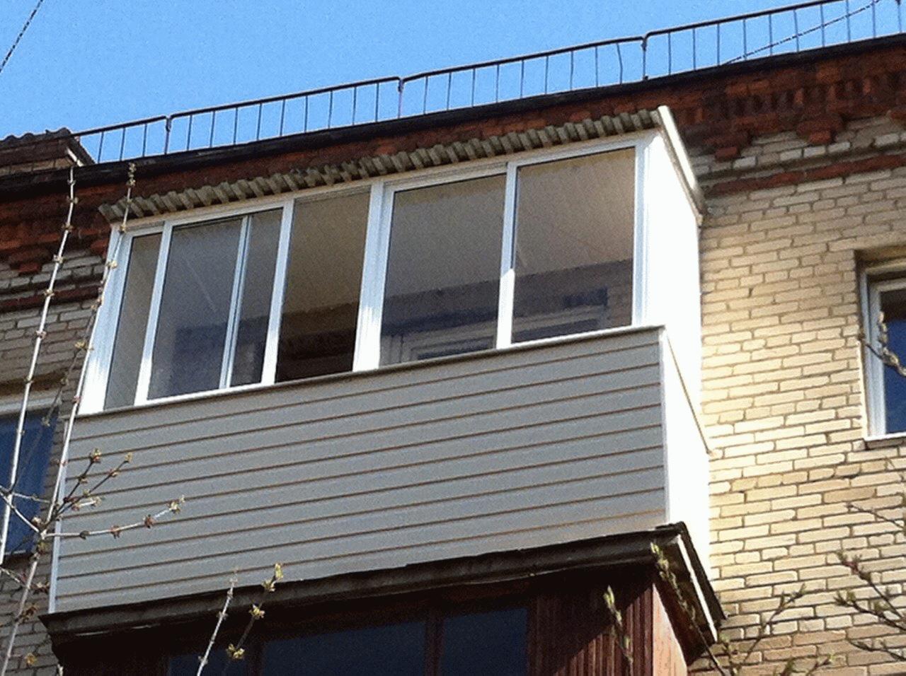 Остекление балконов в СанктПетербурге от БалконМонтаж СПб