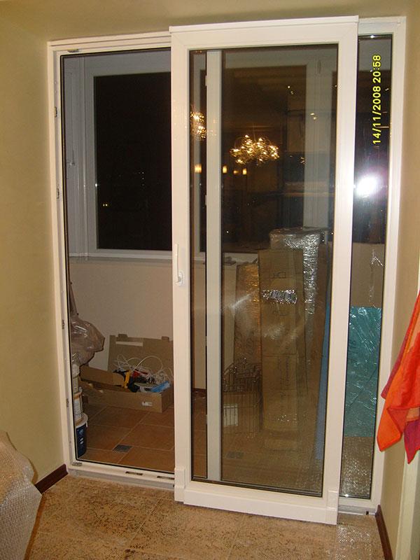 Раздвижные двери фото балкон