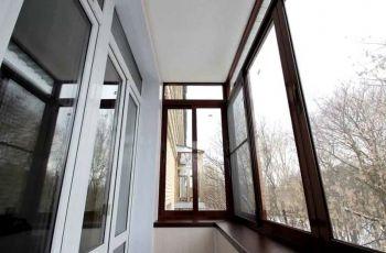 Особенности остекления балконов и лоджий в типовых домах (п .
